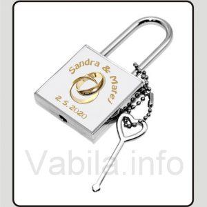 Tiskanje Ključavnic za poroko