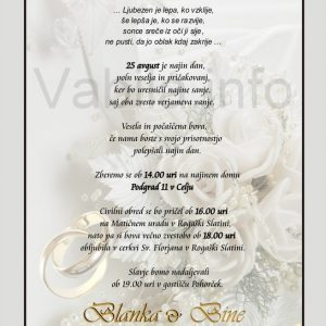 Vabila za poroko – 001