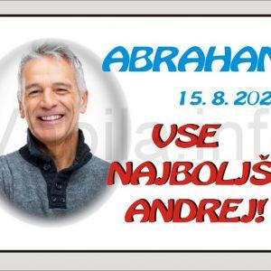 Magnet moški za rojstni dan 50 let ABRAHAMA - 079