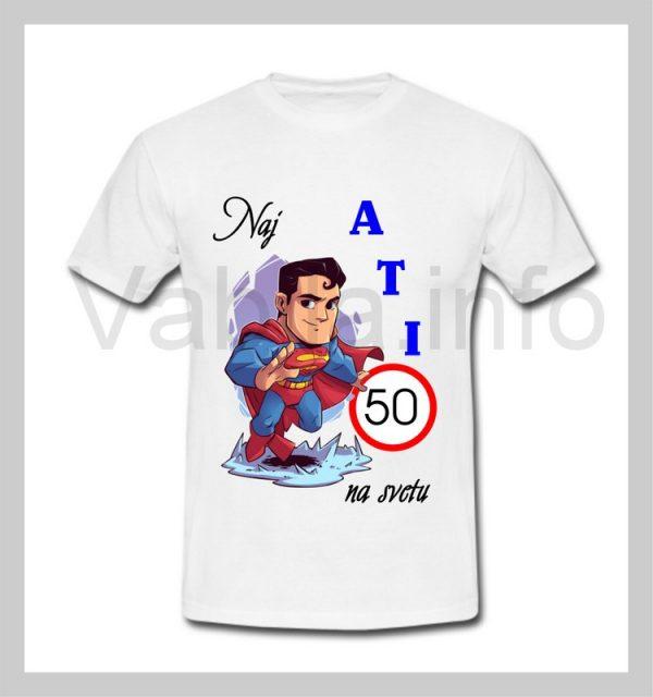 Majica moška za rojstni dan 50 let s tiskom ATI - 228