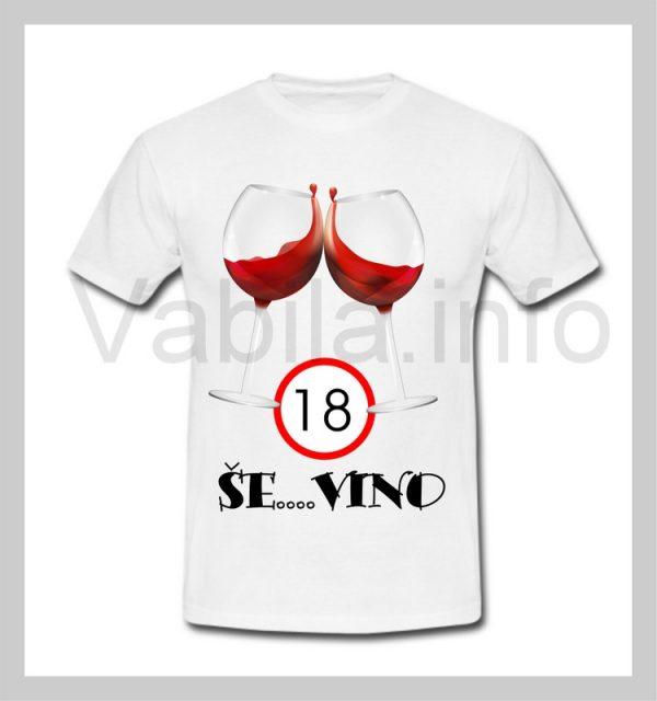 Majica ženska za rojstni dan 18 let s tiskom - 238
