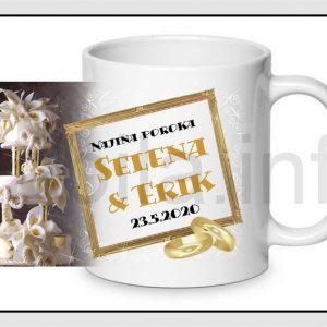 Skodelice za POROKO za svate – Poročne skodelice za svate – 262