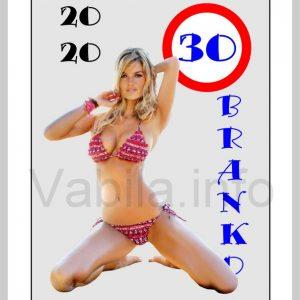 Seksi Magnet moški zabaven za 30 let - 291