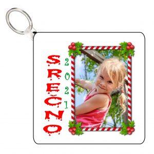 2 Obeska za ključe otroška 2021 - 20?? za Novo leto Božič - 457