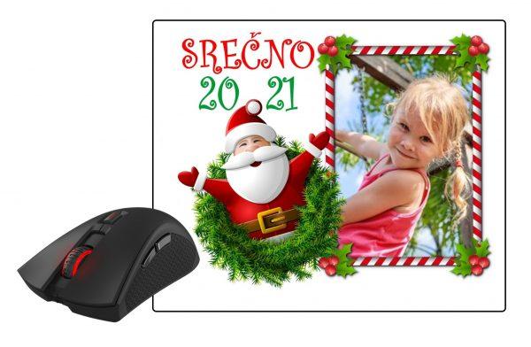 Podloga za miško 2021 - 20?? otroška za Novo leto Božič – 455