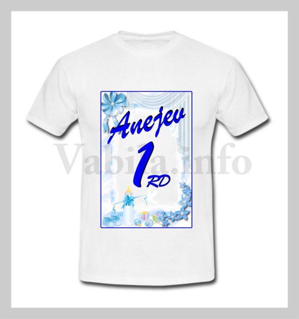 Otroška majica za 1 rojstni dan – 477