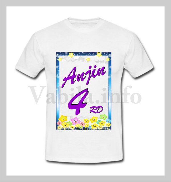 Otroška majica za 4 rojstni dan – 480
