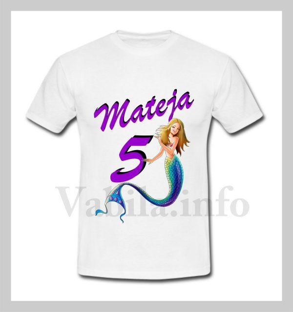 Otroška majica za 5 rojstni dan – 481