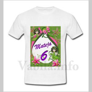 Otroška majica za 6 rojstni dan – 482