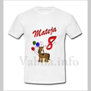 Otroška majica za 8 rojstni dan – 484